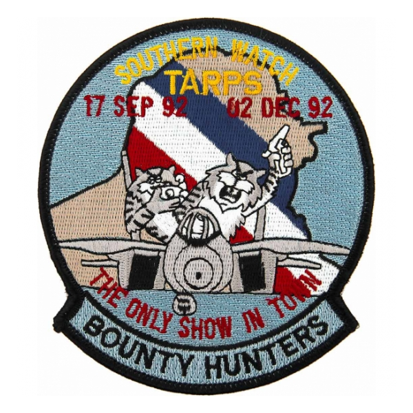 Navy Fighter Squadron VF-2 / F-14 Bounty Hunters Southern Watch Patch