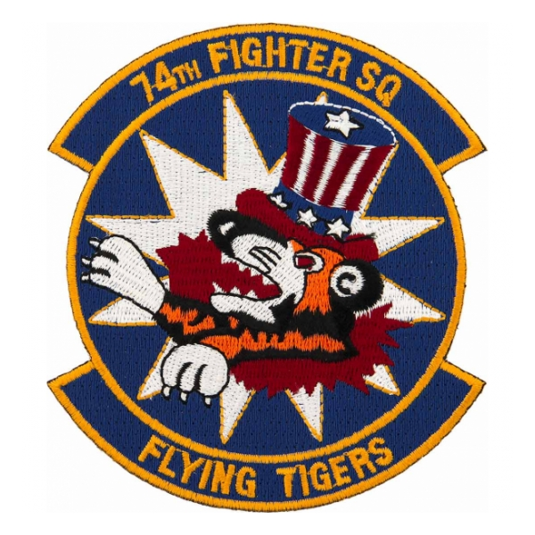 Air Force 74th Fighter Squadron Flying Tigers Patch