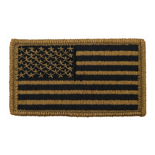 American Flag Scorpion / OCP Patch With Hook Fastener