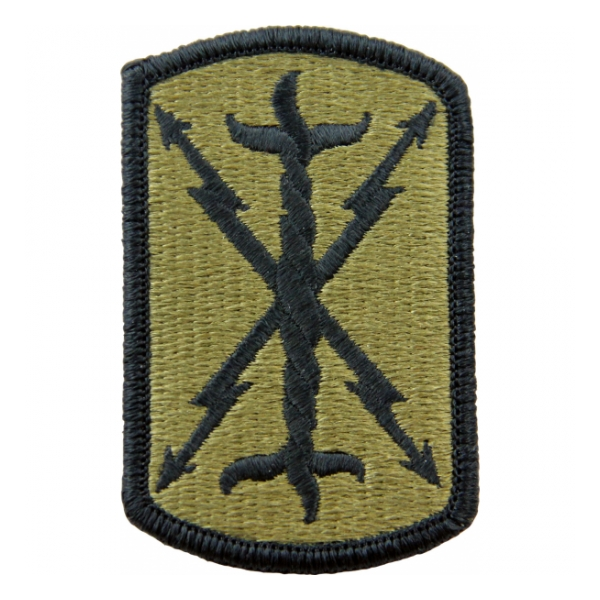 17th Field Artillery Brigade Scorpion / OCP Patch With Hook Fastener