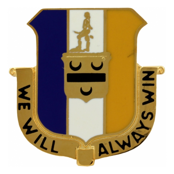 391st Regiment Distinctive Unit Insignia