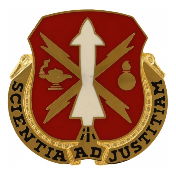 Missile and Munitions Center and School Distinctive Unit Insignia