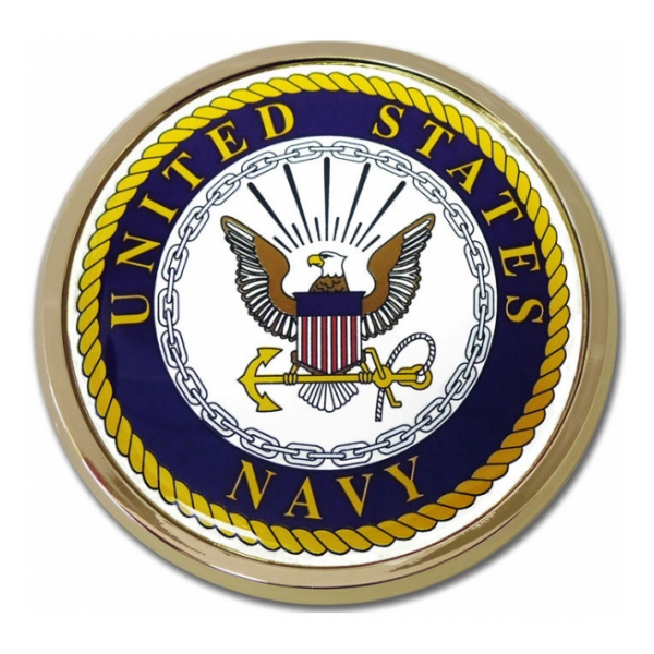 Navy Automobile Emblem