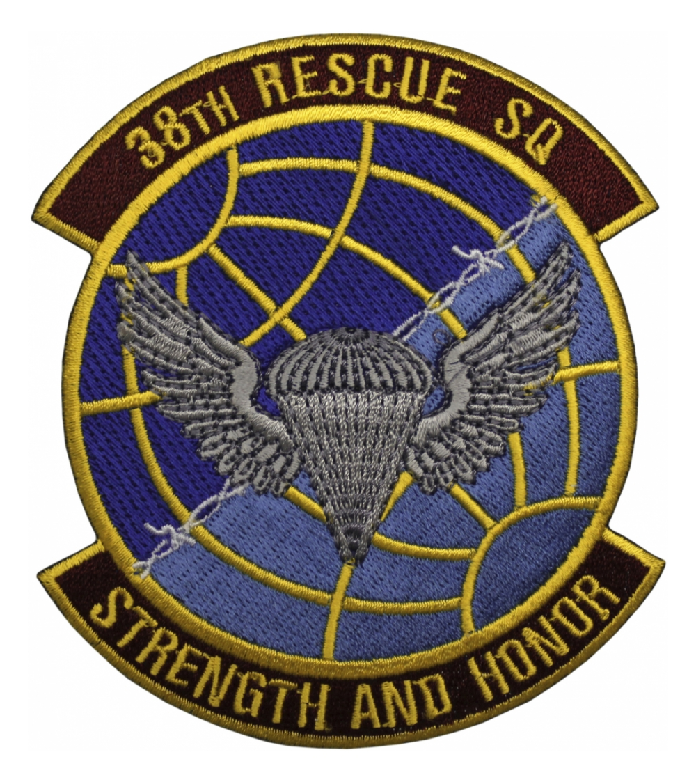 Air Force 38th Rescue Squadron Patch Flying Tigers Surplus