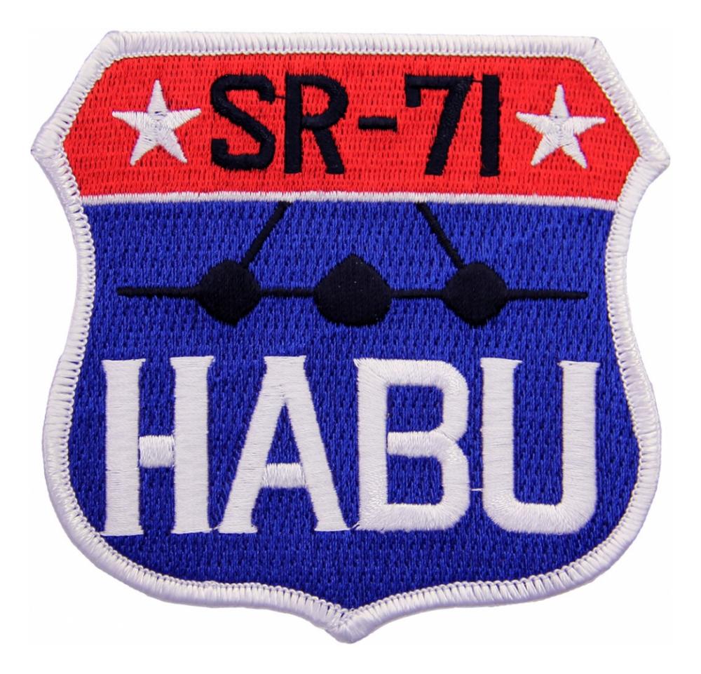 Air Force Sr 71 Habu Patch Flying Tigers Surplus