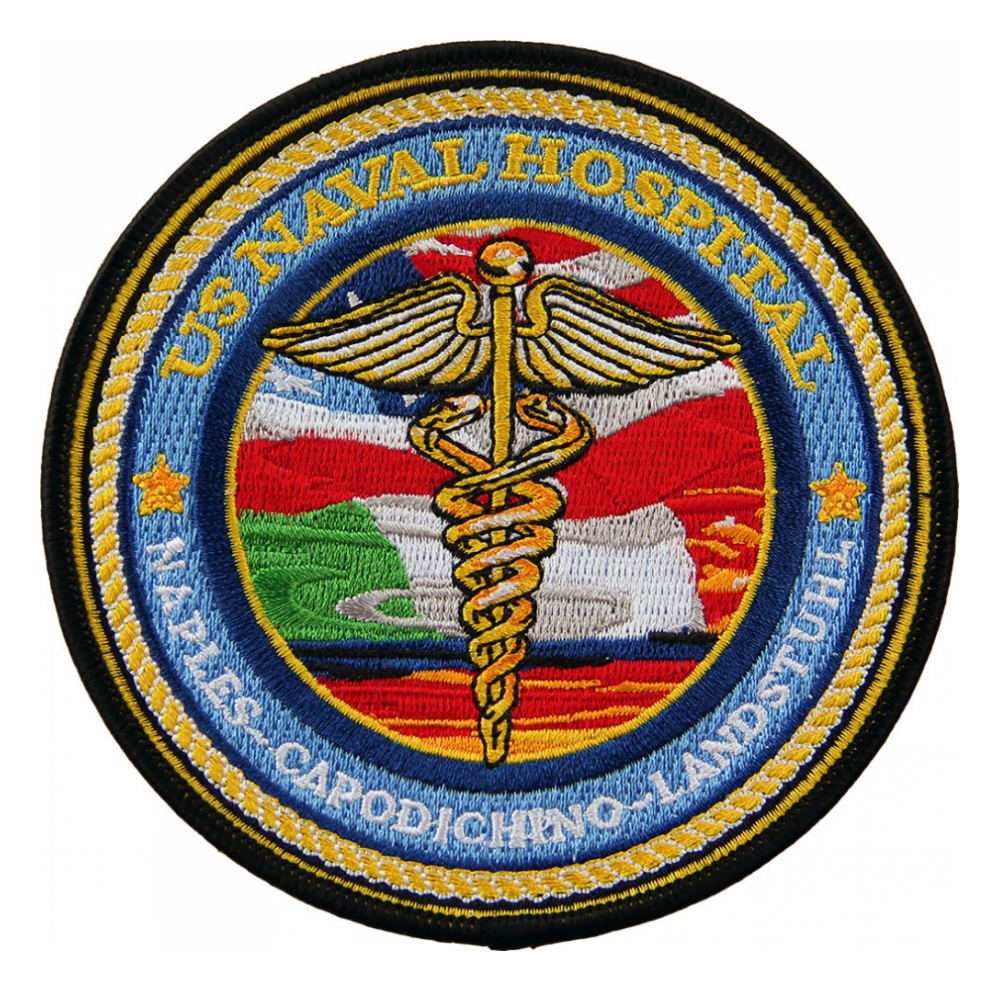 Naval hospital medical patches flying tigers surplus naval hospital naples capodichino landstuhl patch biocorpaavc Gallery