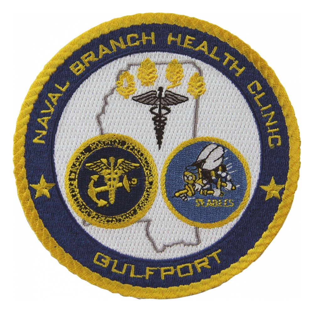 Naval hospital medical patches flying tigers surplus naval branch health clinic gulfport patch biocorpaavc Gallery