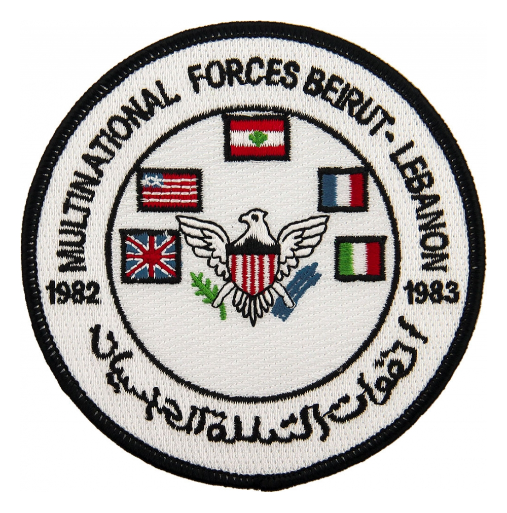 Multinational Forces Beirut - Lebanon 1982-1983 Patch | Flying